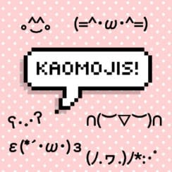 happy kawaii emoji faces kaomojis japanese emoticons