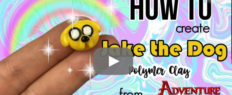 adventure time jake the dog how to make jake the dog polymer clay tutorial